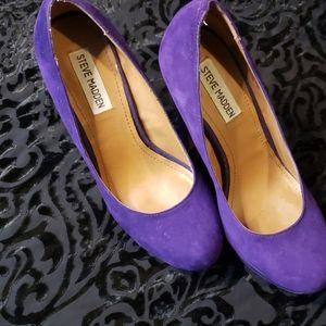 Steve Madden 8M Pumps with Platform